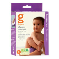 gDiapers gSnap-in Liners Med/Large Medium/Large/X-Large