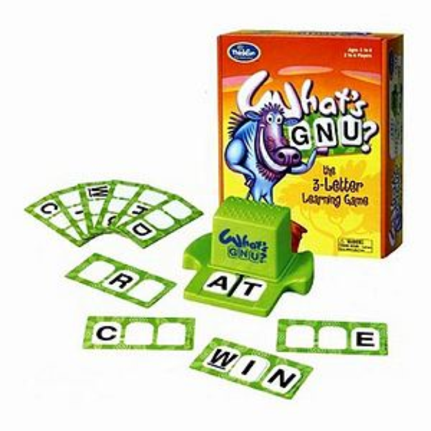 What's GNU? Three Letter Learning Game Ages 5-8, 1 ea