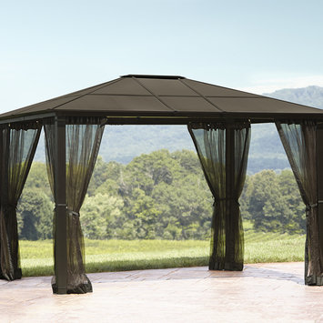 Yeh Hung Plastic Co., Ltd. Essential Garden Replacement Net for Mission Creek Hardtop Gazebo - YEH HUNG PLASTIC CO, LTD.