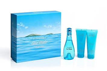 Davidoff Cool Water Woman 100ml Eau de Toilette Fragrance Gift Set