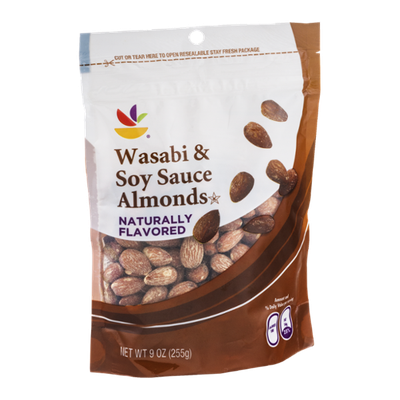 Ahold Wasabi & Soy Sauce Almonds