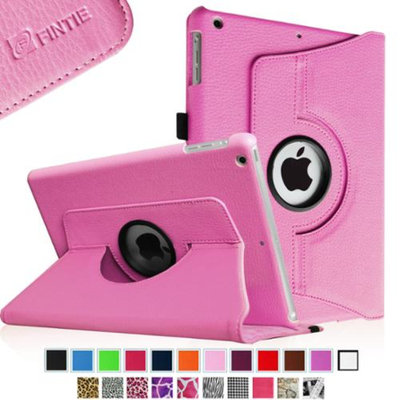Fintie Rotating Stand Case Cover with Auto Sleep / Wake Feature for iPad Air / iPad 5 (5th Generation), Violet