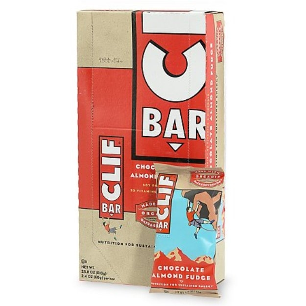 Clif Bar Energy Bars 12 pack Chocolate Almond Fudge