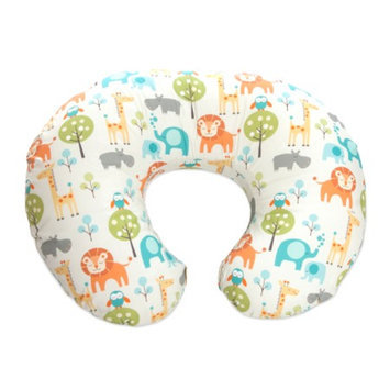 Boppy Slipcovered Nursing Pillow with $30 Bonus Gift - Peaceful Jungle by
