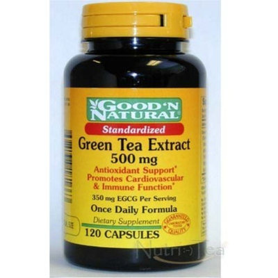 Good 'N Natural Good N Natural - Standardized Green Tea Extract 500 mg (800 mg Polyphenols, 350mg EGCG) - 120 Caps