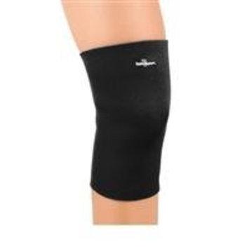 FLA Safe-T-Sport Neoprene Knee Sleeve - Large Closed Patella - Black - 37-37337-374LGBLK