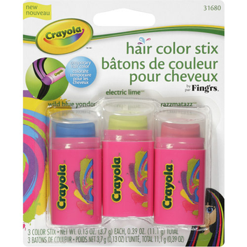 Fing'rs Crayola Hair Color Stix