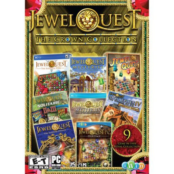 Cosmi Corporation Jewel Quest: The Crown Collection for Windows