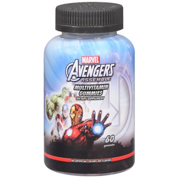 Marvel Heroes Avengers Assemble Multivitamin Gummies