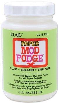 Plaid Mod Podge paper gloss 8 oz.