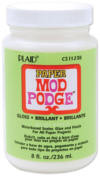 Plaid Mod Podge paper gloss 8 oz.