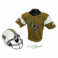 Franklin Sports Central Florida Helmet/Jersey set- OSFM ages 5-9