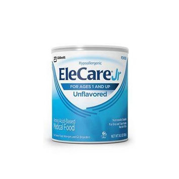 Elecare Jr Unflavored Hypoallergenic 14.1 Oz (2 Pack)