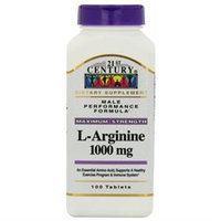 21st Century L-Arginine 1000mg, Maximum Strength, 100 tablets