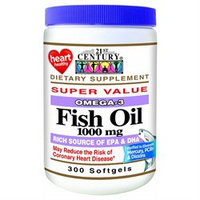 21st Century Healthcare 21st Century Vitamins Fish Oil 1,000 mg Softgels