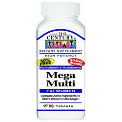 21st Century Mega Multi for Women, Multivitamin & Multimineral