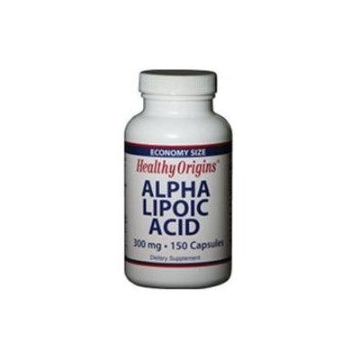 Healthy Origins - Alpha Lipoic Acid 300 mg. - 150 Capsules