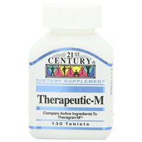 21st Century Healthcare Therapeutic-M Multi-Vitamins, 130 Tablets, 21st Century Health Care
