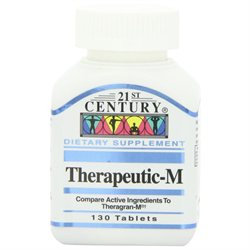 21st Century Healthcare Therapeutic-M Multi-Vitamins, 130 Tablets, 21st Century Health Care