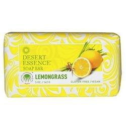 Desert Essence Soap Bar, Lemongrass, 5 oz