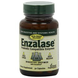 Master Supplements - Enzalase Enzyme Master Supplement - 50 Capsules
