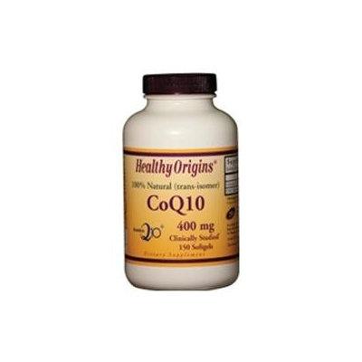 Healthy Origins - CoQ10 Kaneka Q10 Gels 400 mg. - 150 Softgels