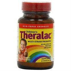 Master Supplement Childrens Theralac - 30 Grams Powder - Acidophilus / Probiotics