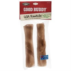 Castor & Pollux Pet Works Rawhide Stick 7 Inches, 2 Pk