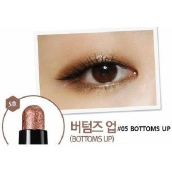 CLIO Gelpresso Waterproof Shadow - Eye Shadow Pencil, Stick Eye Shadow, Eye Make-up, Full Size, Longlasting & No Smudge (#05 Bottoms Up)