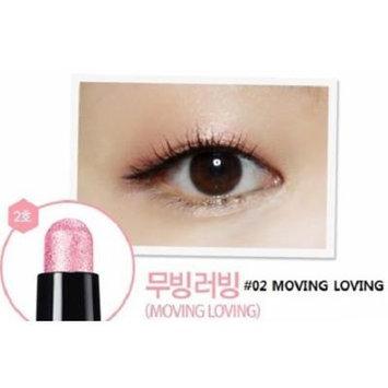 CLIO Gelpresso Waterproof Shadow - Eye Shadow Pencil, Stick Eye Shadow, Eye Make-up, Full Size, Longlasting & No Smudge (#02 Moving Loving)