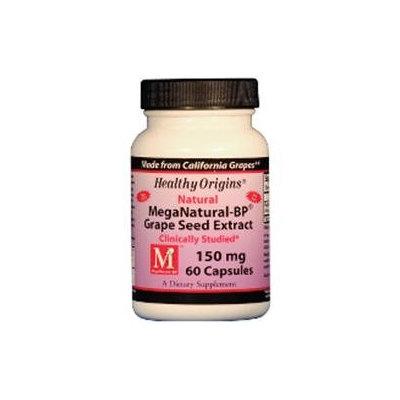 Healthy Origins MegaNatural-BP Grape Seed Extract 150 mg, Capsules