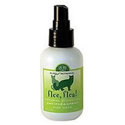 Dancing Paws - Purely Botanical Flee Flea Natural Anti-Flea Spray for Cats - 4 oz.