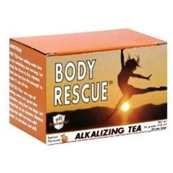 Body Rescue Alkalizing Tea Apricot - 20 Tea Bags