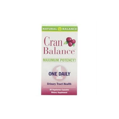 CranBalance (Cran Balance), 30 Veggie Caps, Natural Balance