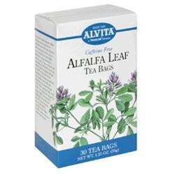 Alvita Alfalfa Leaf Tea Bags - 30 Bag - Herbal Teas