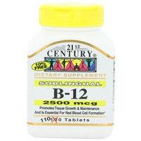21st Century Healthcare 21st Century Vitamins Sublingual B12 2,500 mcg Tabs