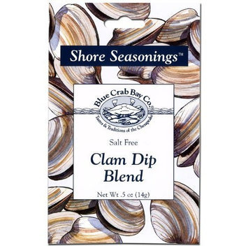 Blue Crab Bay Co. Clam Dip Blend, 0.5-Ounces (Pack of 12)