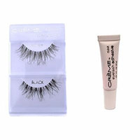 6 Pairs Crème 100% Human Hair Natural False Eyelash Extensions #WSP ,Free Gift