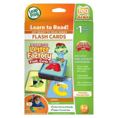 LeapFrog LeapReader Junior Interactive Letter Factory Flash Cards