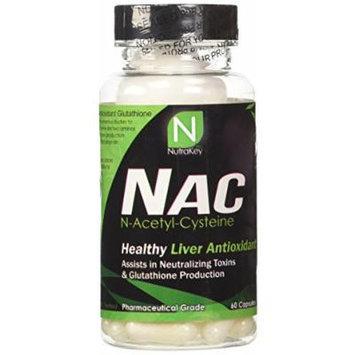 NutraKey NAC Capsules, 60 Count