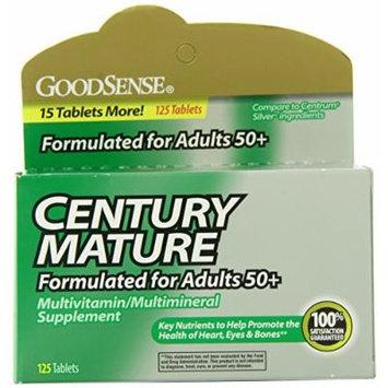 GoodSense CENTURY Mature Multivitamin, 125-count