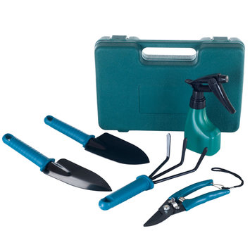 Stalwart Tool Set. Garden Tool Set with Carrying Case (6-Piece) 75-65931