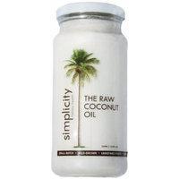 Simplicity - Extra Virgin 100% RAW Coconut Oil