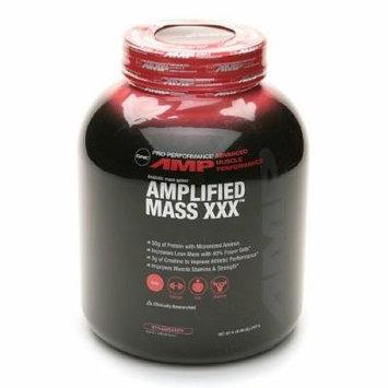 GNC Pro Performance AMP Amplified Mass XXX, Strawberry 6 lb (2727 g)