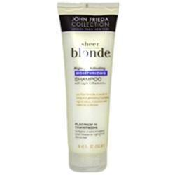 John Frieda Sheer Blonde Highlight Activating Moisturizing Shampoo Platinum To Champagne 8.45 oz Shampoo