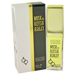Alyssa Ashley Musk by Houbigant for Women - 1.7 oz EDT Spray