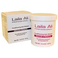 Laila Ali Medium Strength Conditioning Hair Relaxer Treatment - 15 oz