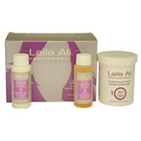Laila Ali Mild Strength Conditioning Hair Relaxer Kit - 4-Piece Gift Set