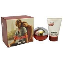 Donna Karan M-GS-2440 Red Delicious by Donna Karan for Men - 2 Pc Gift Set 3.4oz EDT Spray 3.4oz Shower Gel