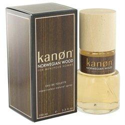Kanon Norwegian Wood by Kanon Eau De Toilette Spray 3.3 oz